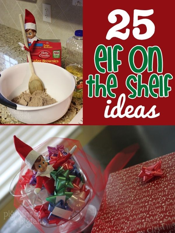 25 Elf on the Shelf Ideas by janis                                         Some of these I like.. some are too mischievous!