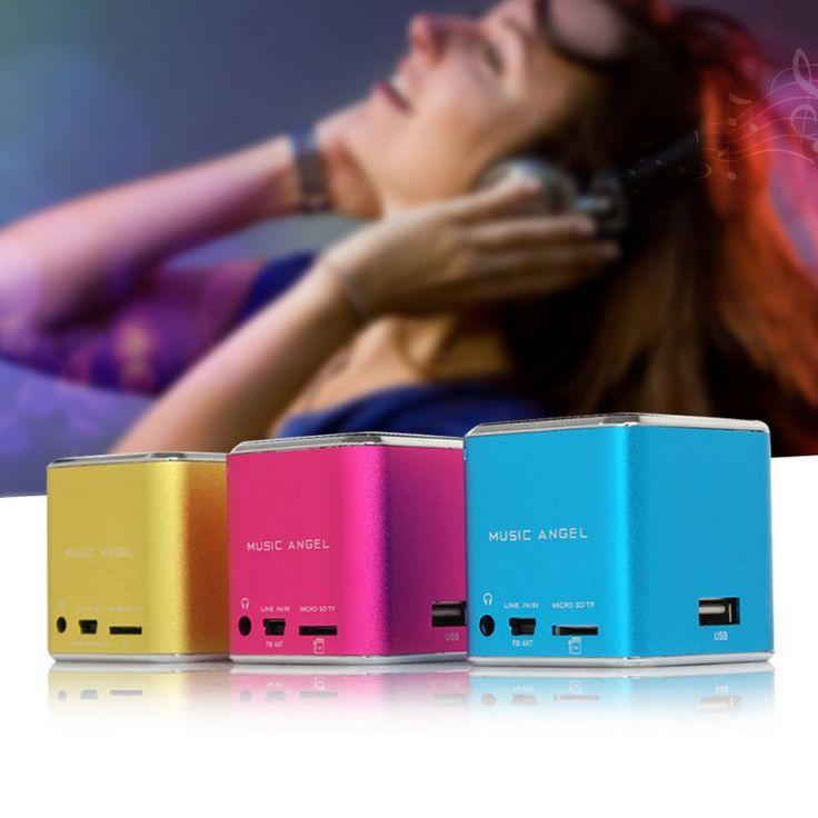 Micro usb mini estéreo portátil super bass altavoz de la música mp3 mp4 fm radio tdv26 inserta el disco de u tarjeta de la venta caliente en Altavoces de Electrónica de consumo en AliExpress.com   Alibaba Group