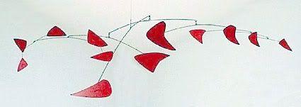 Red Mobile (1956) by Alexander Calder