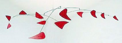 alexander calder mobiles and red on pinterest. Black Bedroom Furniture Sets. Home Design Ideas
