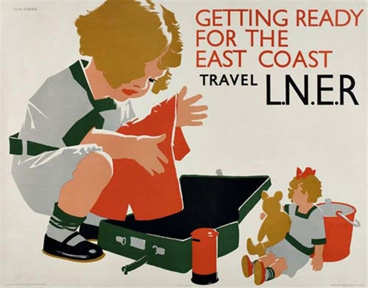 Getting Ready - L.N.E.R. Poster, Tom Purvis