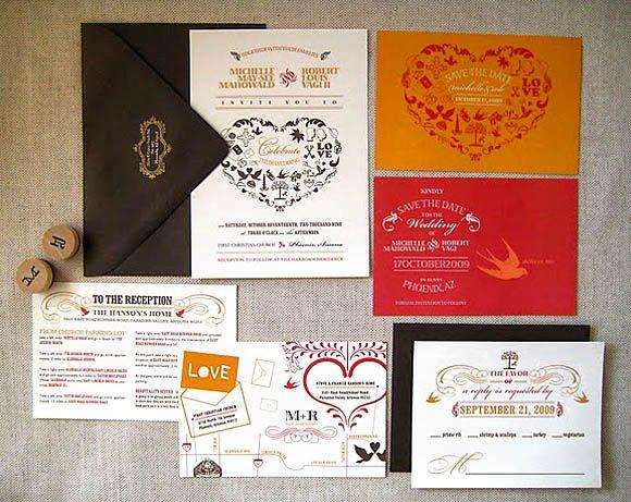 198 best Wedding Invitation Design images on Pinterest