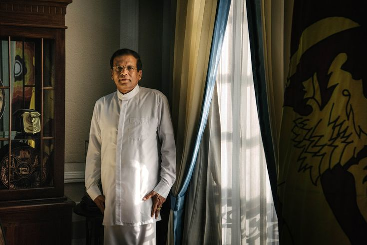 5/13/2016 SRI LANKA: President Maithripala Sirisena, chosen by a coalition because he was agreeable and self-effacing, is trying to forge a political solution that for decades has been out of reach.