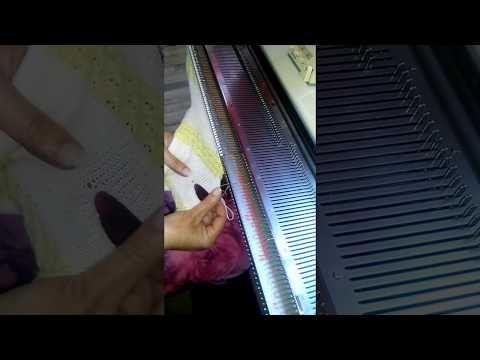 Trico a maquina Mini  Enxoval macaquinho parte 1 - YouTube