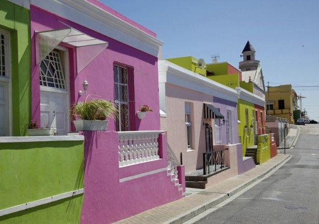 Bo Kaap bij Kaapstad in Zuid-Afrika  - © Thinkstock