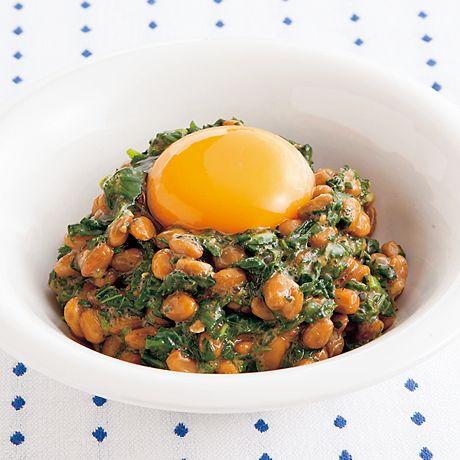 モロヘイヤ納豆 | 吉田瑞子さんのおつまみの料理レシピ | プロの簡単料理レシピはレタスクラブニュース
