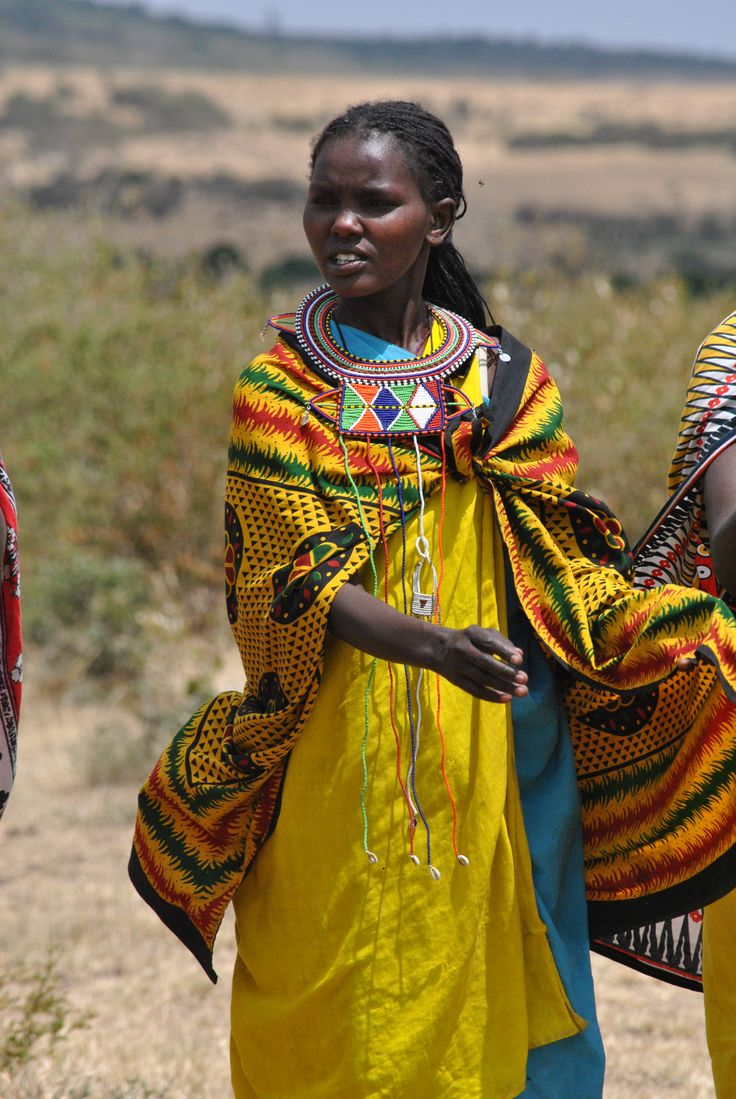 Woman of a Masai Village (Kenya)
