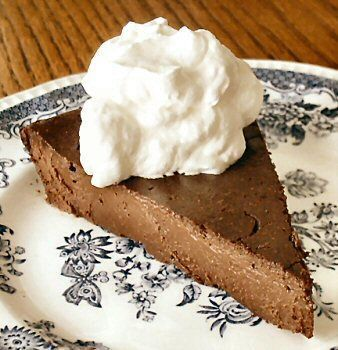 Chocolate Truffle Torte (Very Low Sugar/ Low Carb) Recipe by I_GET_FIT via @SparkPeople