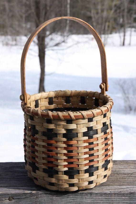 Cherokee Storage Basket by BlueFrogBasketry on Etsy
