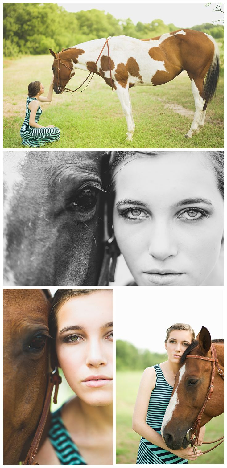 Senior Portraits, Natural light photography, Senior Female Photography, Young model, striped maxi, braided hair, senior horse portrait images, girl with horse