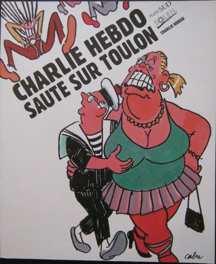 Charlie Hebdo - Numéro Spécial - Novembre 1995 - Charlie Saute sur Toulon - Couverture Cabu