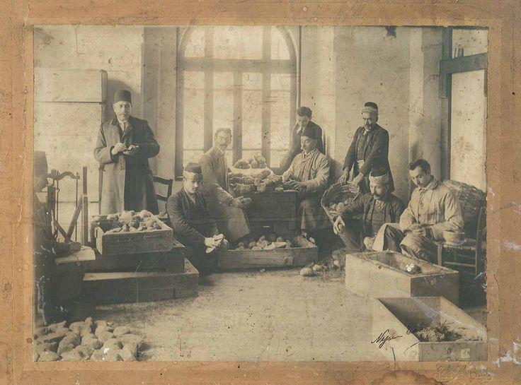 Osmanlı SÜNGER TÜCCARI VE İMALATHANESİ | by OTTOMAN IMPERIAL ARCHIVES