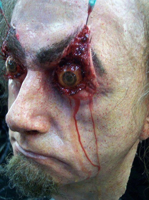 Liquid latex | Cosplay/special effects | Pinterest | Latex, Makeup ...
