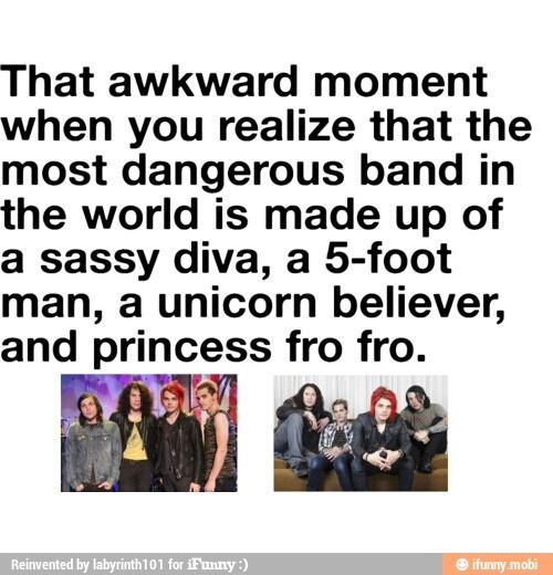 My Chemical Romance is sassy Gerard Way Frank Iero MCR / iFunny :)