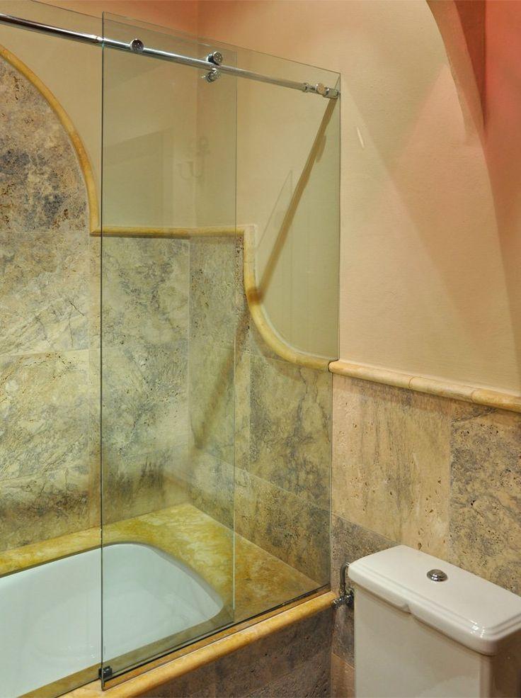 Oltre 1000 idee su vasca da bagno doccia su pinterest vasche da bagno vasche doccia e vasche - Vetro vasca bagno ...