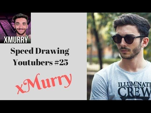 Speed Drawing Youtubers #25 - xMurry