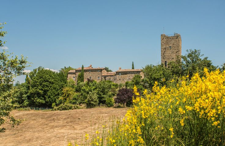 Borgo San Biagio Umbria & Tuscany Border Sleeps up to 20. A fabulous place for a gathering, wedding or special celebration, this property is better described as a lovingly converted historic hamlet, complete with tower, chapel, bell...and huge heated pool.
