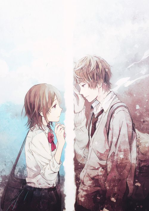 10 best images about cute couples on pinterest anime - Beautiful sad couple images ...