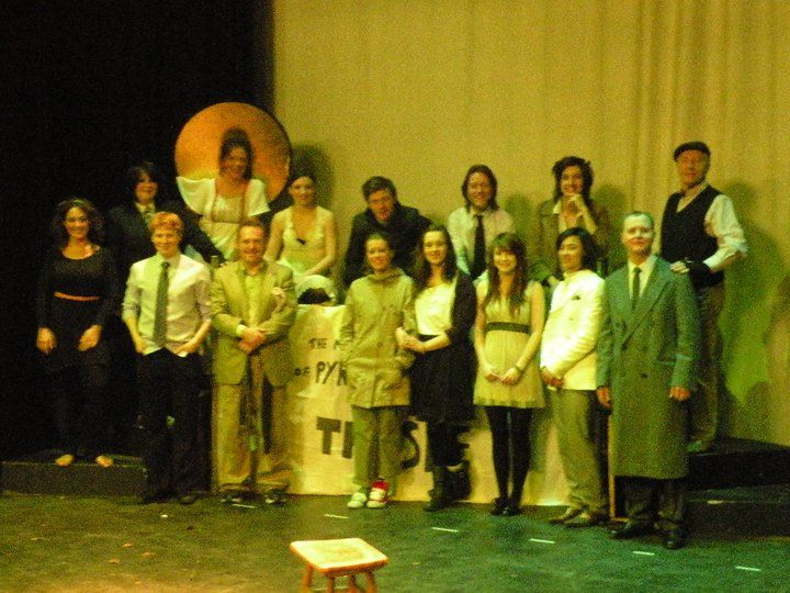 The cast of our 2010 production of Midsummer - our first Shakespeare play!