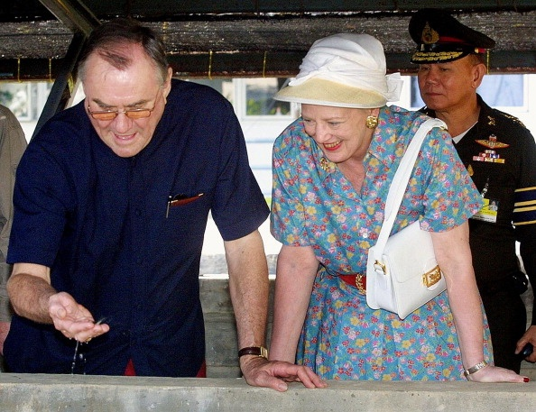 Queen Margrethe, February 11, 2001