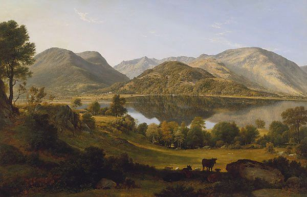 Ullswater, Early Morning ARTIST:	John Glover