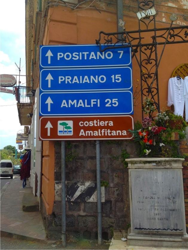a Costa Amalfitana é linda
