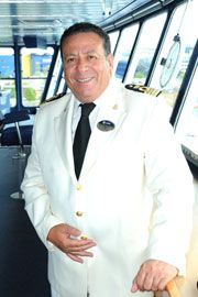 Captain Giacomo Romano: Started his career with MSC in 1994 with the rank of second officer, after serving on board Renaissance Cruises' fleet. In 2001 he became Staff Captain on board Monterey, and in 2005 he was promoted to Captain. Today he is on his 14th season with MSC. Captain Romano has commanded ships belonging to the Lirica and Musica classes as well as MSC Melody. (updated: 2012)