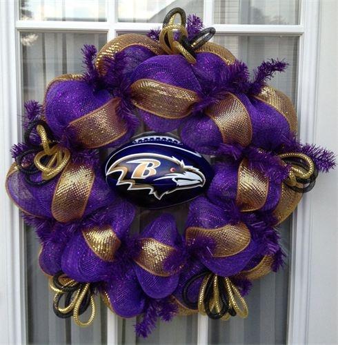 Ravens wreath