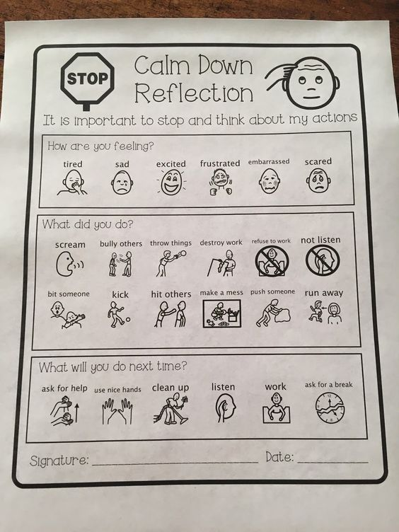 Anger Control Kit: Calm Down Reflection - the healing path with children