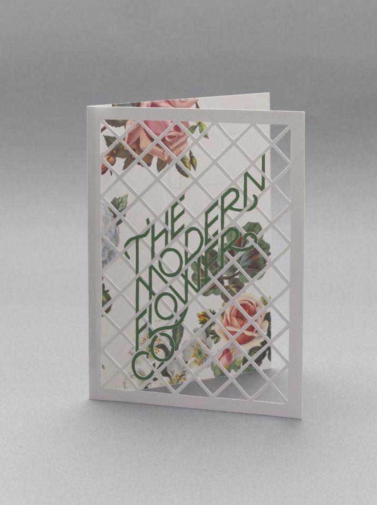 The Modern Flower Company re-brand by London design studio Multistorey