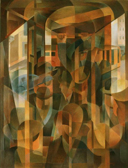 Frank Hinder, Tram kaleidoscope,1948