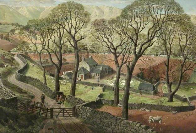 """James McIntosh Patrick, """"Springtime in Eskdale"""" (1935)."""
