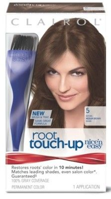 Budget-Friendly Haircolor Maintenance Tips including Clairol Root Touch-Up