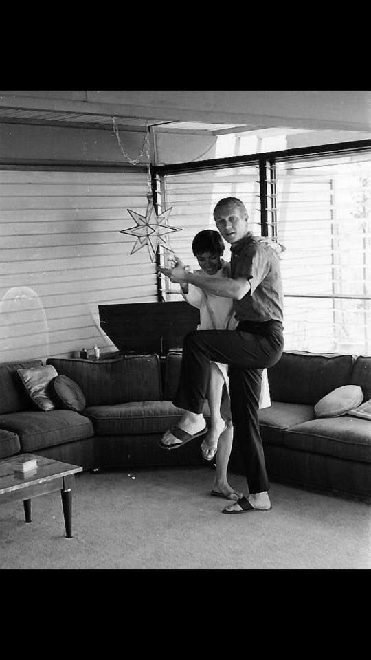Steve McQueen with his wife Nellie | Personal Life