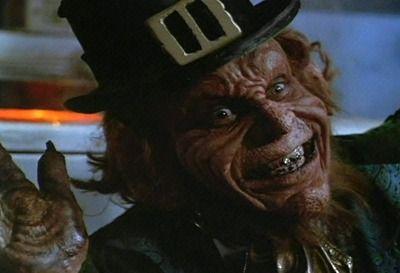 "Leprechaun+Movie   Leprechaun: ""I'm a leprechaun me dear."""