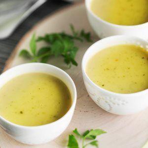 Samettinen lipstikkakeitto - Lovage soup