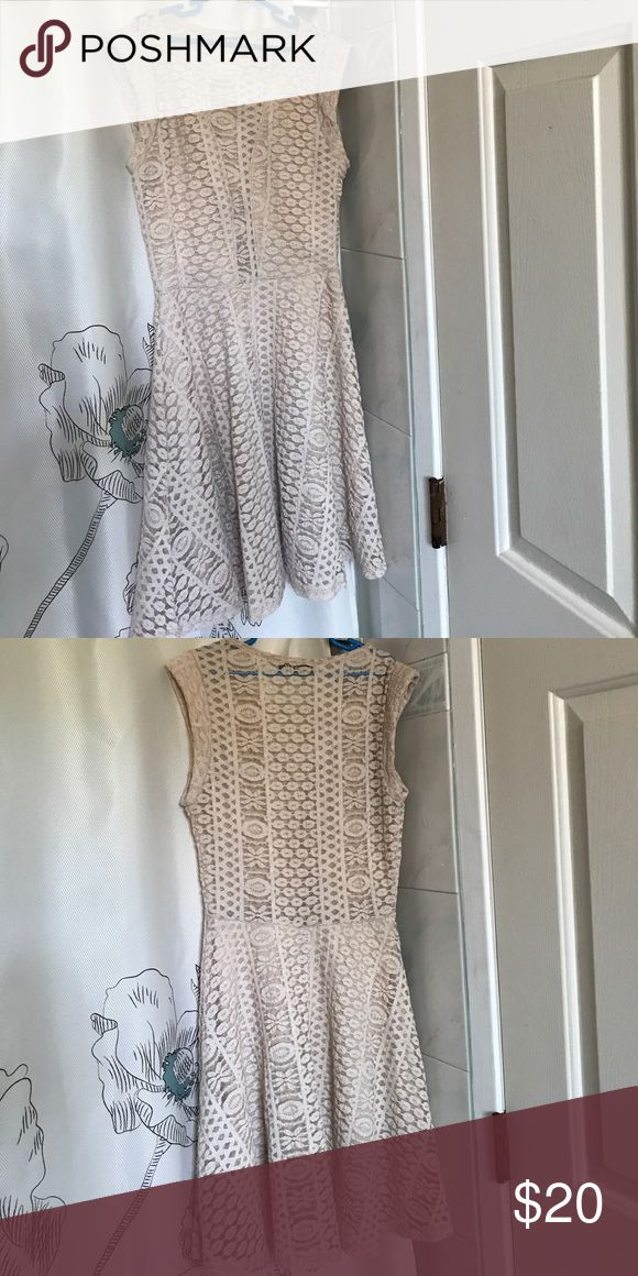 Beige Lace dress Never worn Dresses