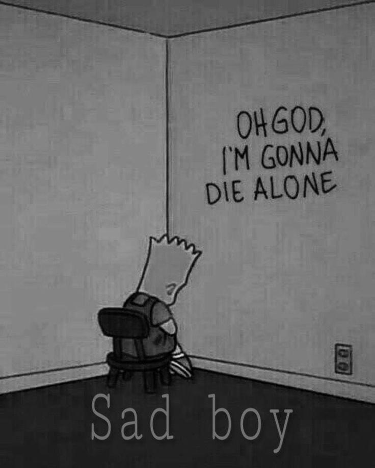 Bart Simpson sad, tumblr. – Image by … – #Handyhintergrund #Hintergrundbilderi…