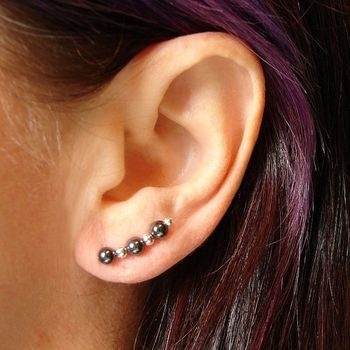 How to make your own ear pins...