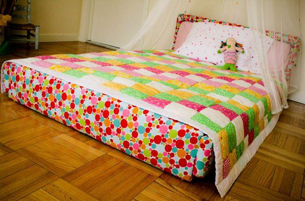 diy floor bed