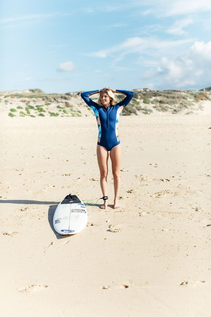 Sun, salt, sand and SURF with Steph Gilmore #ROXYpro France