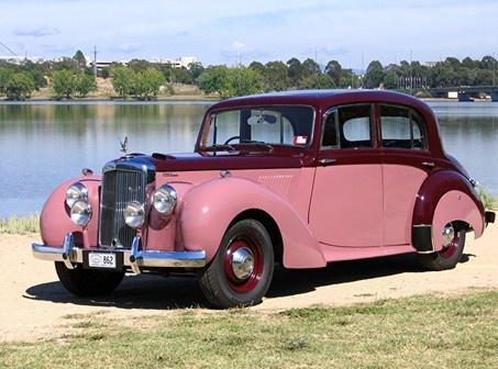 1954 Alvis TC 21/100