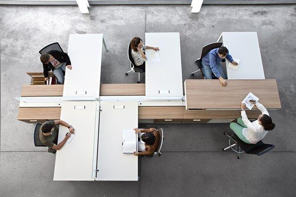 Programa de mobiliario Spine de Actiu, o cómo van a ser las oficinas del futuro. - diariodesign.com