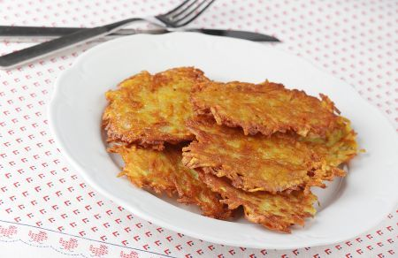 Potato Hash Browns / Potato Pancakes | Trim Down Club