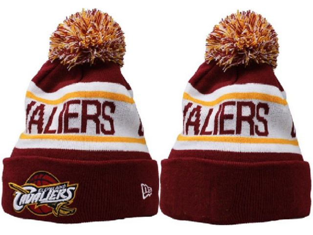 NBA Cleveland Cavaliers New Era Beanie Knit Hats