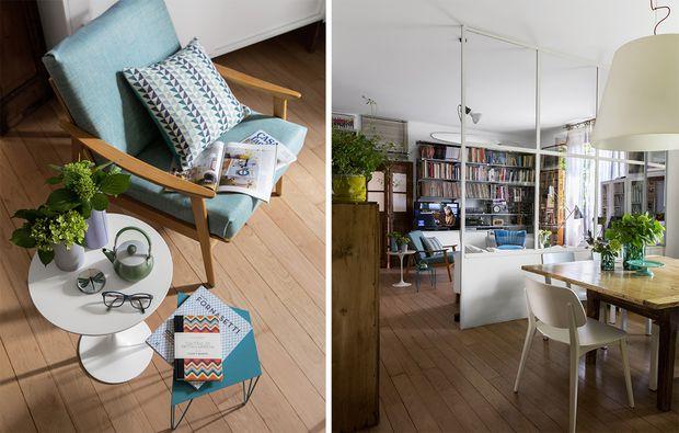 parete vetrata tra soggiorno e cucina: trasformazione di un open ... - Parete Vetrata Soggiorno