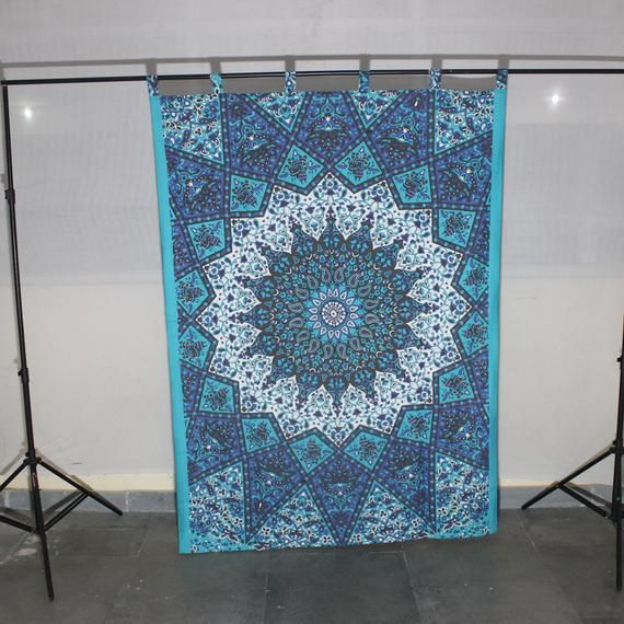 Tapestry Curtains Indian Mandala Tapestries Door Curtain Door