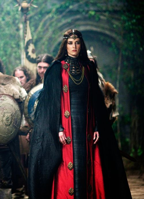 Eva Green in 'Camelot' (2011). x