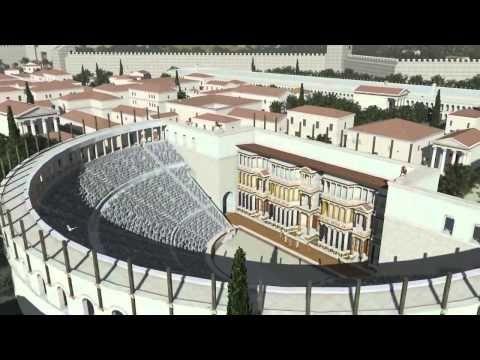 Ένα εντυπωσιακό 3D βίντεο με τον Ιππόδρομο, το θέατρο και τον Ναό του Απόλλωνα στην αρχαία Κόρινθο. Δείτε την πόλη όπως ήταν πριν χιλιάδες χρόνια - ΜΗΧΑΝΗ ΤΟΥ ΧΡΟΝΟΥ