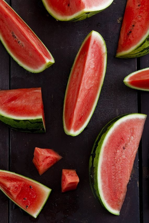 watermelon slices by Mowie Kay